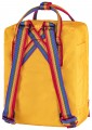Kanken Rainbow Mini, kolor: 141/907 - Warm Yellow-Rainbow Pattern