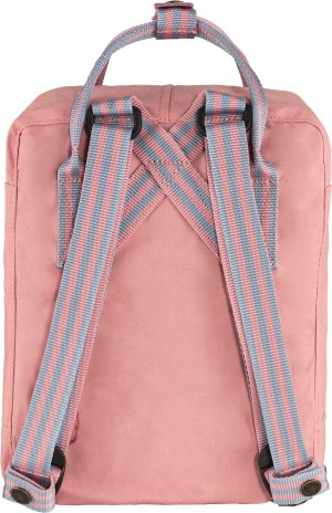 Plecak Kanken Mini Fjallraven - 312-909 - Pink/Long Stripes