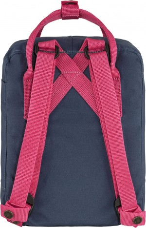 Plecak Kanken Mini Fjallraven - 540/450 - Royal Blue-Flamingo Pink