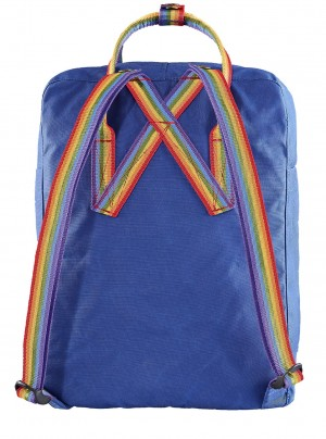 Plecak Kanken Rainbow Mini - 527-907 Deep Blue/Rainbow Pattern
