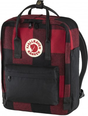 Plecak Kanken Re-Wool Fjallraven - kolor - 320-550 Red/Black