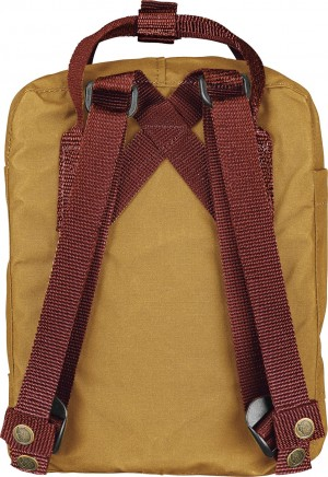 Plecak Kanken Mini Fjallraven - 166-326 Acorn-Ox Red