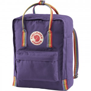Plecak Kanken Rainbow  - 580-907 - Purple/Rainbow Pattern