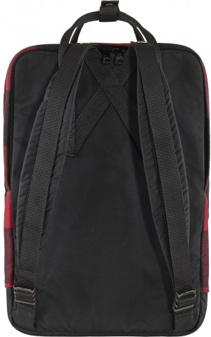 "Plecak Kanken Re-Wool Laptop 15"" Fjallraven - kolor - 320-550  Red/Black"