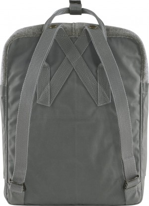 Plecak Kanken Re-Wool Fjallraven - kolor - 027 - Granite Grey