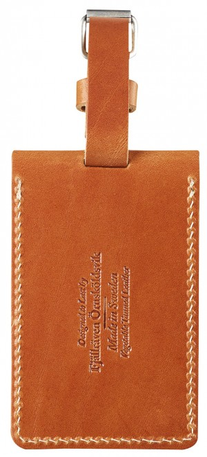 IDENTYFIKATOR BAGAŻU LEATHER LUGGAGE TAG