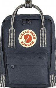 Plecak Kanken Mini Fjallraven - 560/909 - Royal Blue-Long Stripes