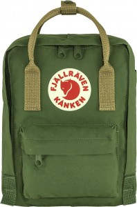 Plecak Kanken Mini Fjallraven - 621/221 Spruce Green-Clay