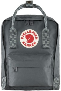 Plecak Kanken Mini Fjallraven - 046-904 Super Grey/Chess Pattern