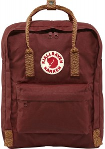 Plecak Kanken Fjallraven - 326-908 Ox Red-Goose Eye