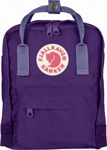 Plecak Kanken Mini Fjallraven - 580-465 Purple - Violet