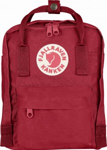 Plecak Kanken Kids Fjallraven - 325 Deep Red