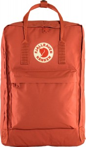 "Plecak Kanken Laptop 17"" Fjallraven - 333 Red Rowan"