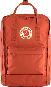 "Plecak Kanken Laptop 15"" Fjallraven - 333 Red Rowan"