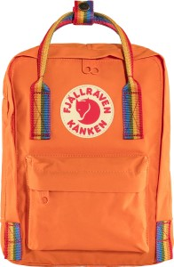 Plecak Kanken Rainbow Mini - 212-907 - Burnt Orange-Rainbow Pattern