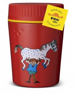 PIPPI Trailbreak Lunch Jug Red - termos na żywność