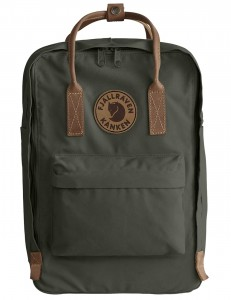 "Kanken No. 2 Laptop 15"" - 662 Deep Forest"