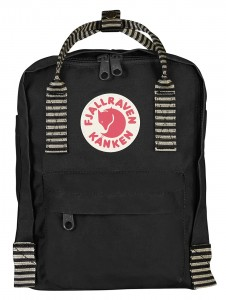 Plecak Kanken Mini Fjallraven - 550-901 Black Striped