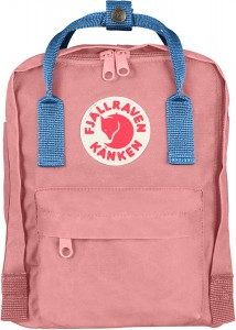 Plecak Kanken Mini Fjallraven -  312-508 - Pink-Air Blue