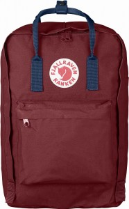"Plecak Kanken Laptop 17"" Fjallraven - 326-540 Ox Red/Royal Blue"