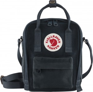 Torba Kanken Re-Wool Sling Fjallraven - 575 Night Sky