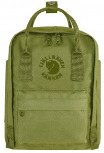 Re-Kanken MINI Fjallraven - 607 Spring Green