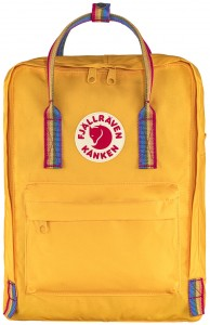 Plecak Kanken Rainbow - 141-907 Warm Yellow-Rainbow Pattern