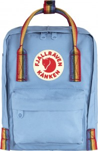 Plecak Kanken Rainbow Mini - 508-907 - Air Blue-Rainbow Pattern