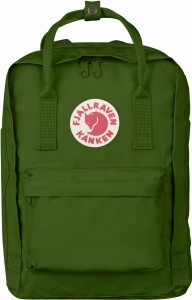 "Plecak Kanken Laptop 13"" Fjallraven - 615 Leaf Green"
