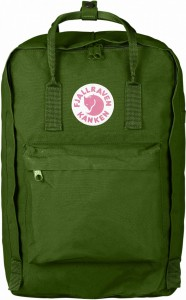 "Plecak Kanken Laptop 17"" Fjallraven - 615 Leaf Green"