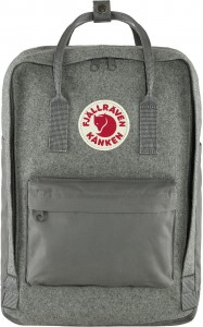 "Plecak Kanken Re-Wool Laptop 15"" Fjallraven - kolor - 027 - Granite Grey"