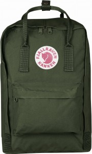 "Plecak Kanken Laptop 15"" Fjallraven - 660 Forest Green"