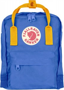 Plecak Kanken Mini Fjallraven - 525-141 UN Blue-Warm Yellow