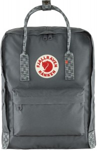 Plecak Kanken Fjallraven - 046-904 Super Grey/Chess Pattern