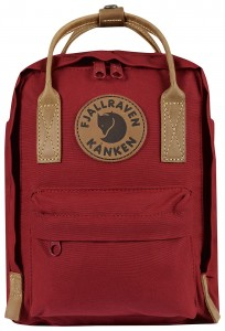 Kanken No. 2 Mini - 325 Deep Red