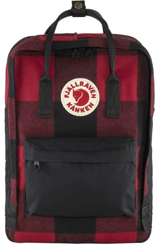 "Kanken Re-Wool Laptop 15"", kolor: 320-550 - Red / Black"