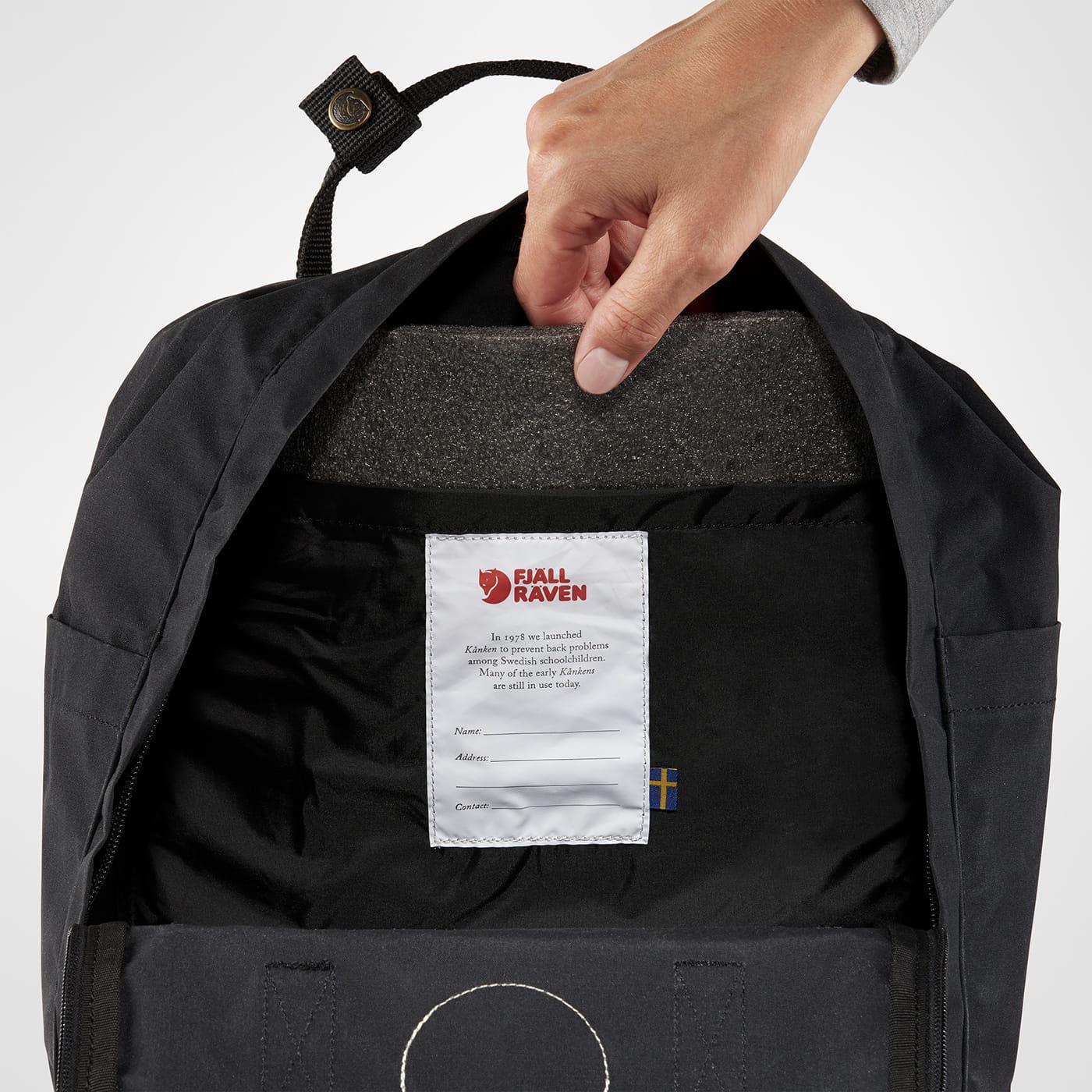 najlepsze oferty na wylot sprzedaż obuwia Plecak Kanken Fjallraven - 550 Black